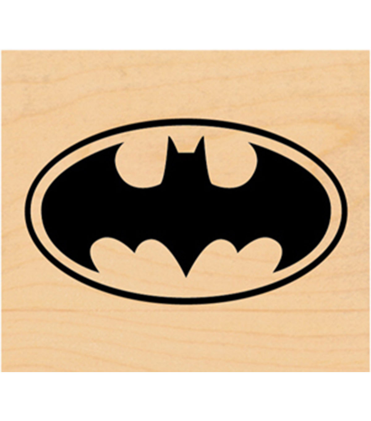 C&D Visionary DC Comic Rubber Stamp-Batman Logo