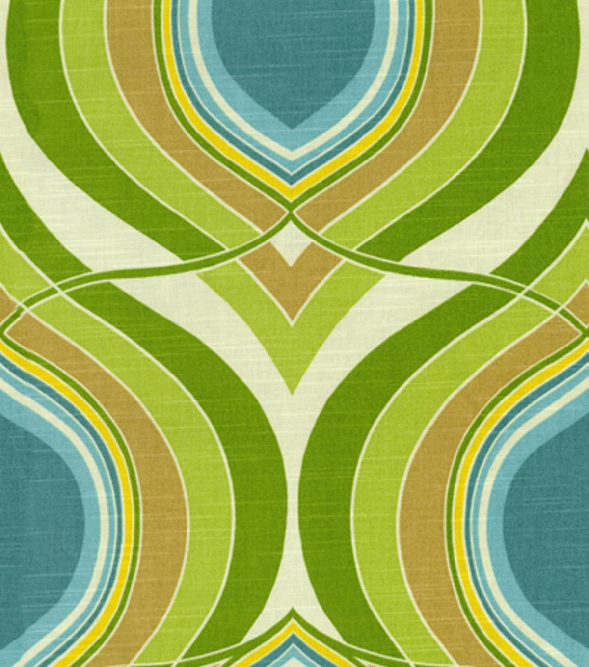 Home Decor 8''x 8''Swatch Print Fabric- HGTV HOME Groove