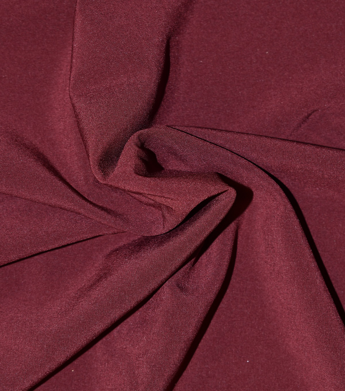Casa Collection Stretch Matte Satin Fabric -Tawny Port