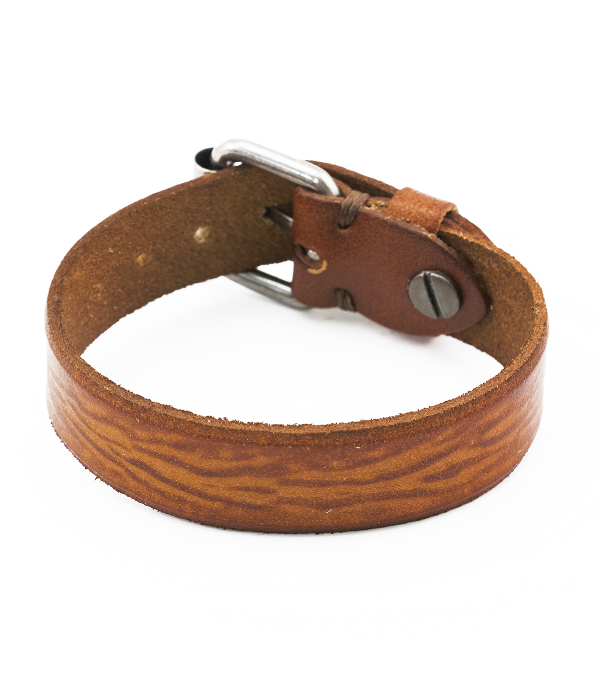 Tim Holtz Assemblage Buckle Cuff-Brown