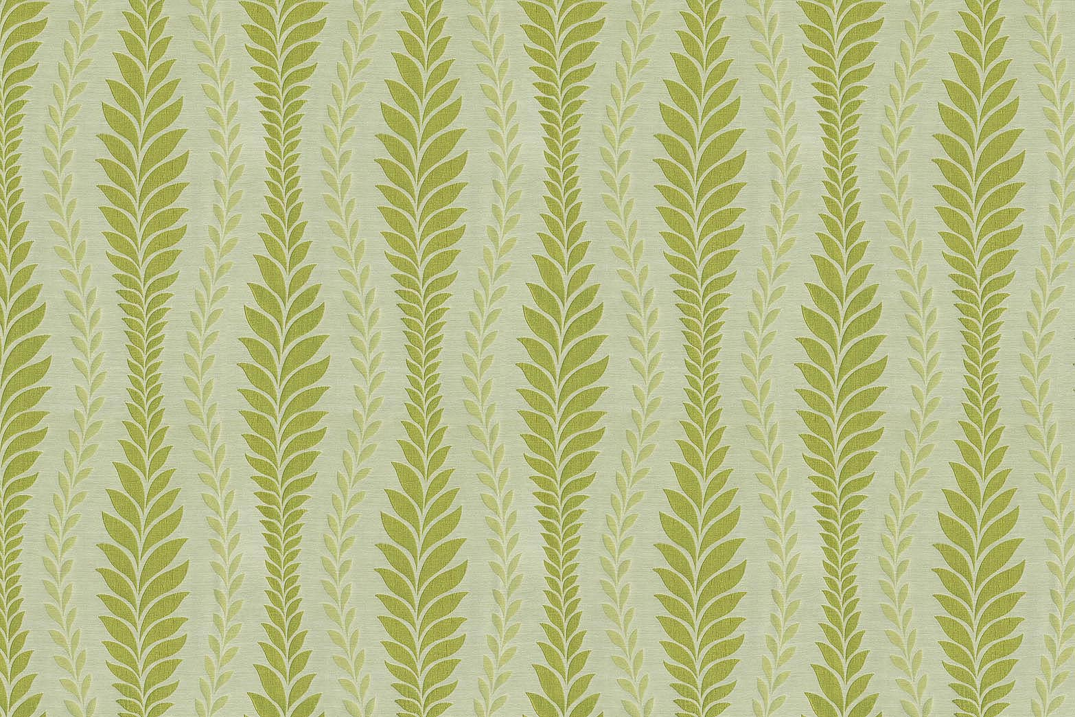 IMAN Home Sheer Fabric 56\u0022-Zahra Leaf/Citrine