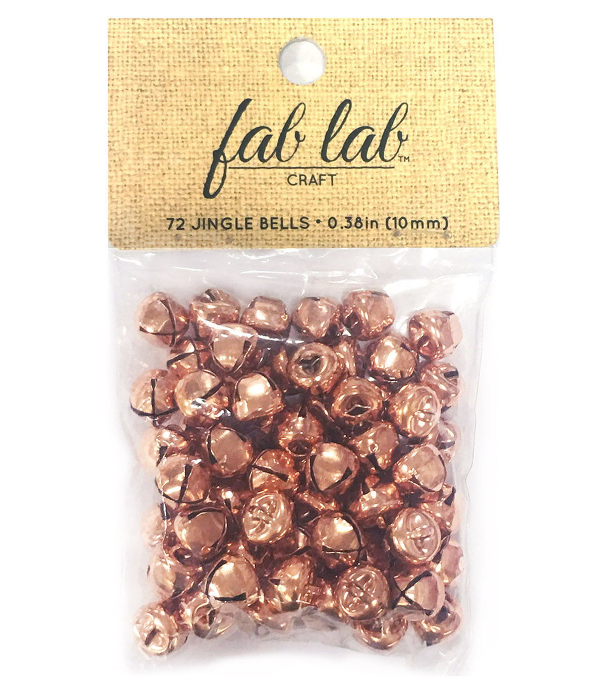 Fab Lab 3/8\u0022 Jingle Bells-Copper