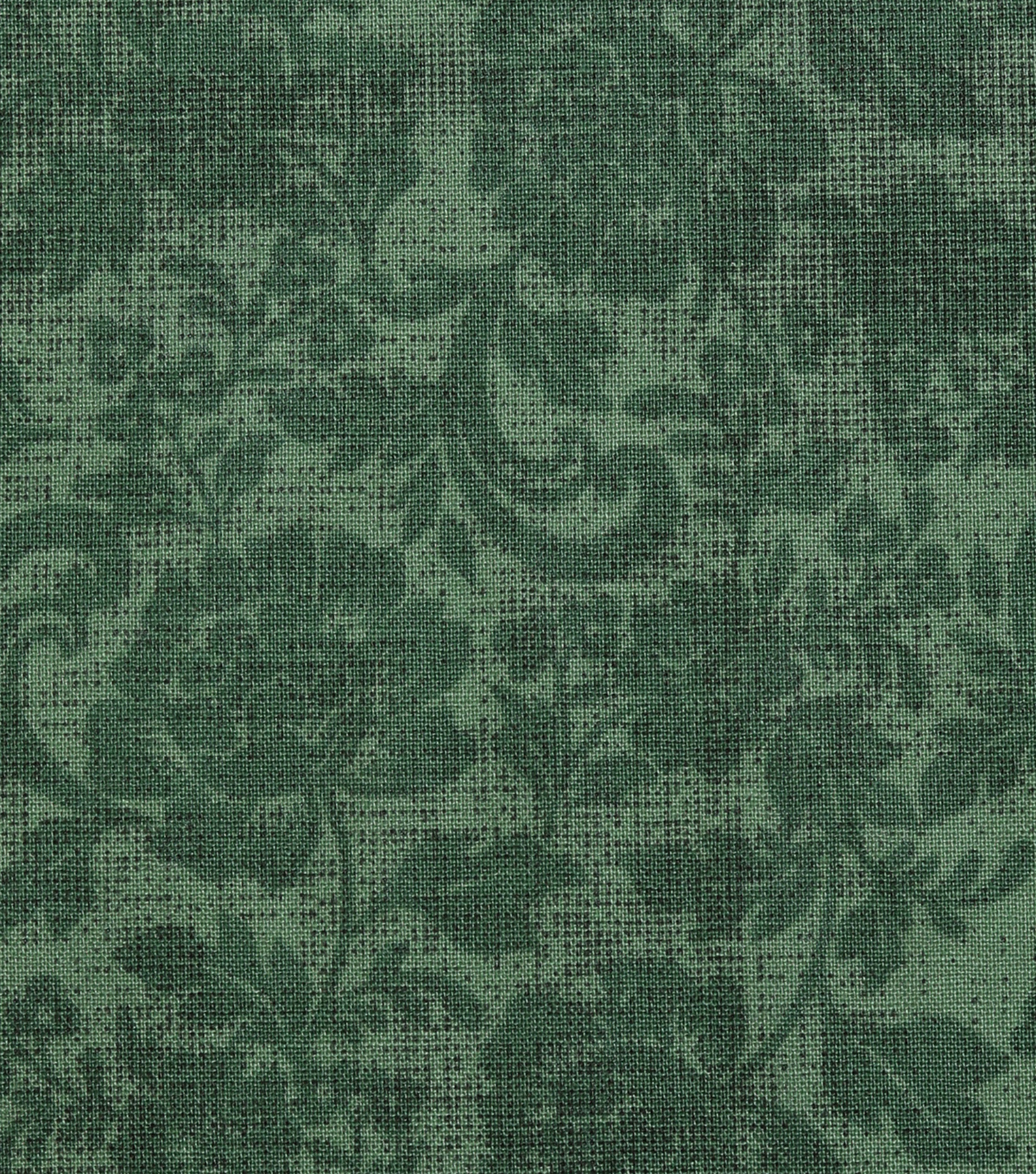 Harvest Cotton Fabric-Green Mums