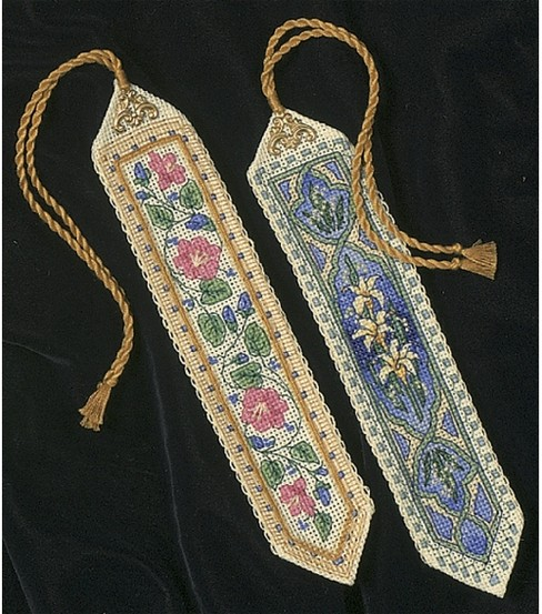 Dimensions Gold Collection Bookmarks Cntd X-Stitch Kit