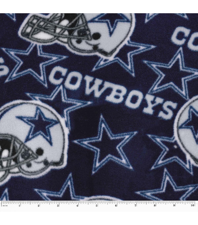 Dallas Cowboys Fleece Fabric 58