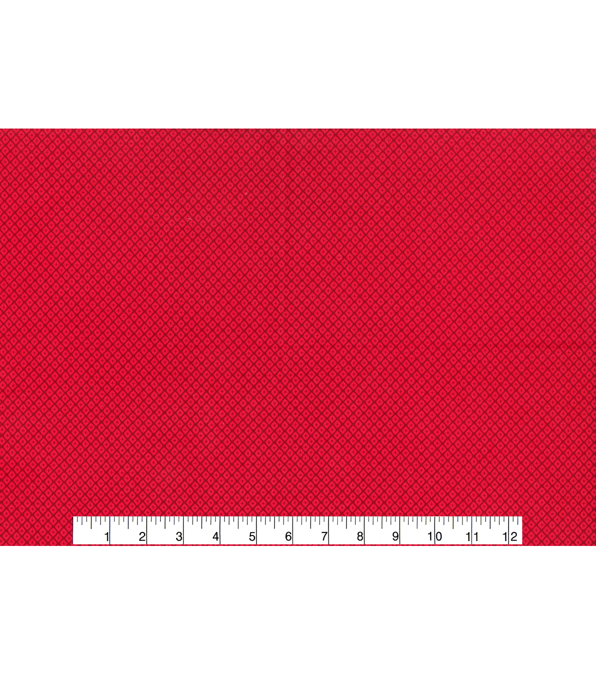 Keepsake Calico Cotton Fabric -Diamond Red Tonal