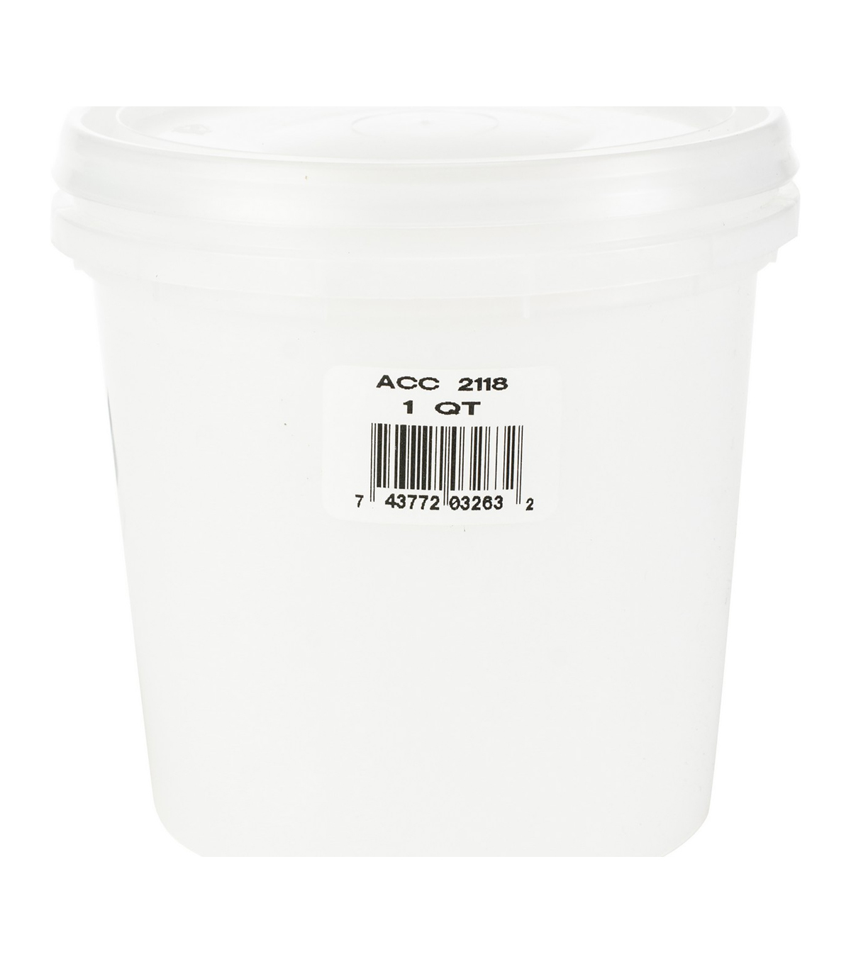 Jacquard Products 8 pk Quart Translucent Plastic Jars with Lids
