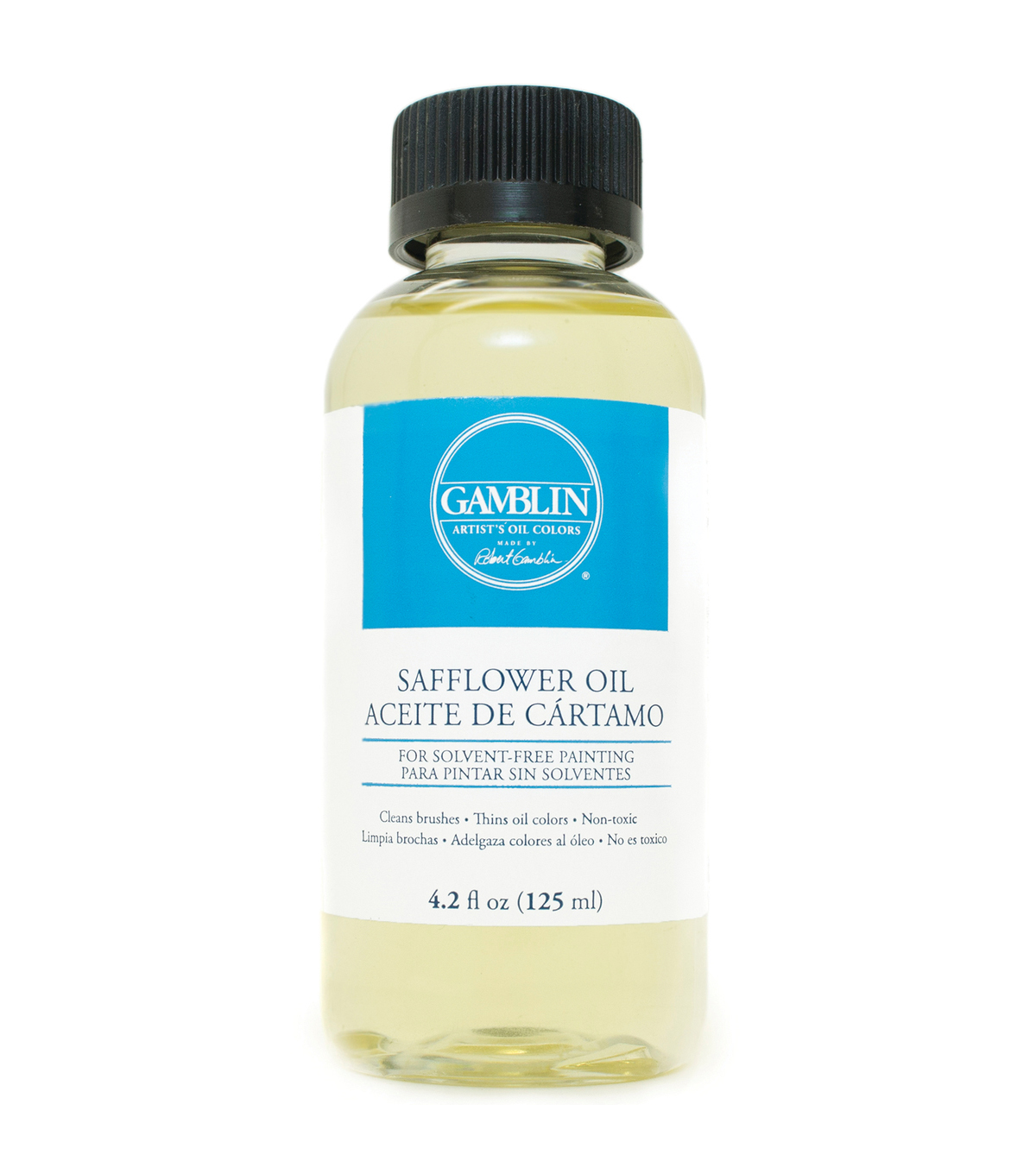 Gamblin Safflower Oil 4.2oz.