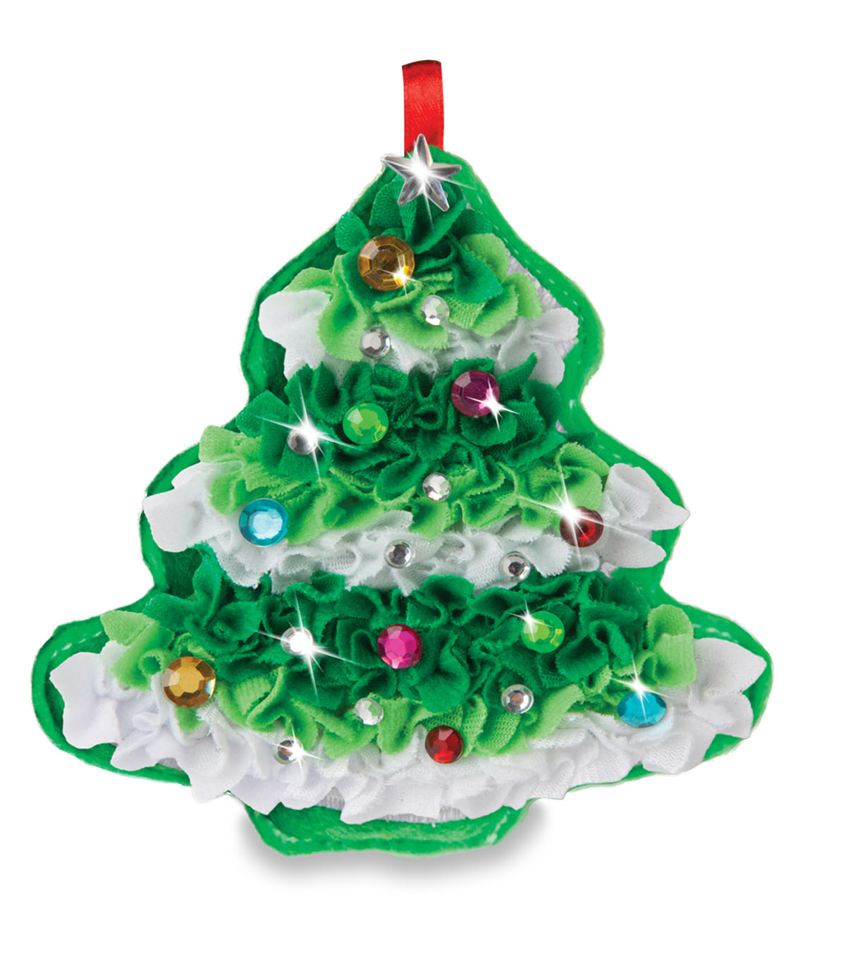 ORB Plush Craft Christmas Tree Ornament Kit | JOANN