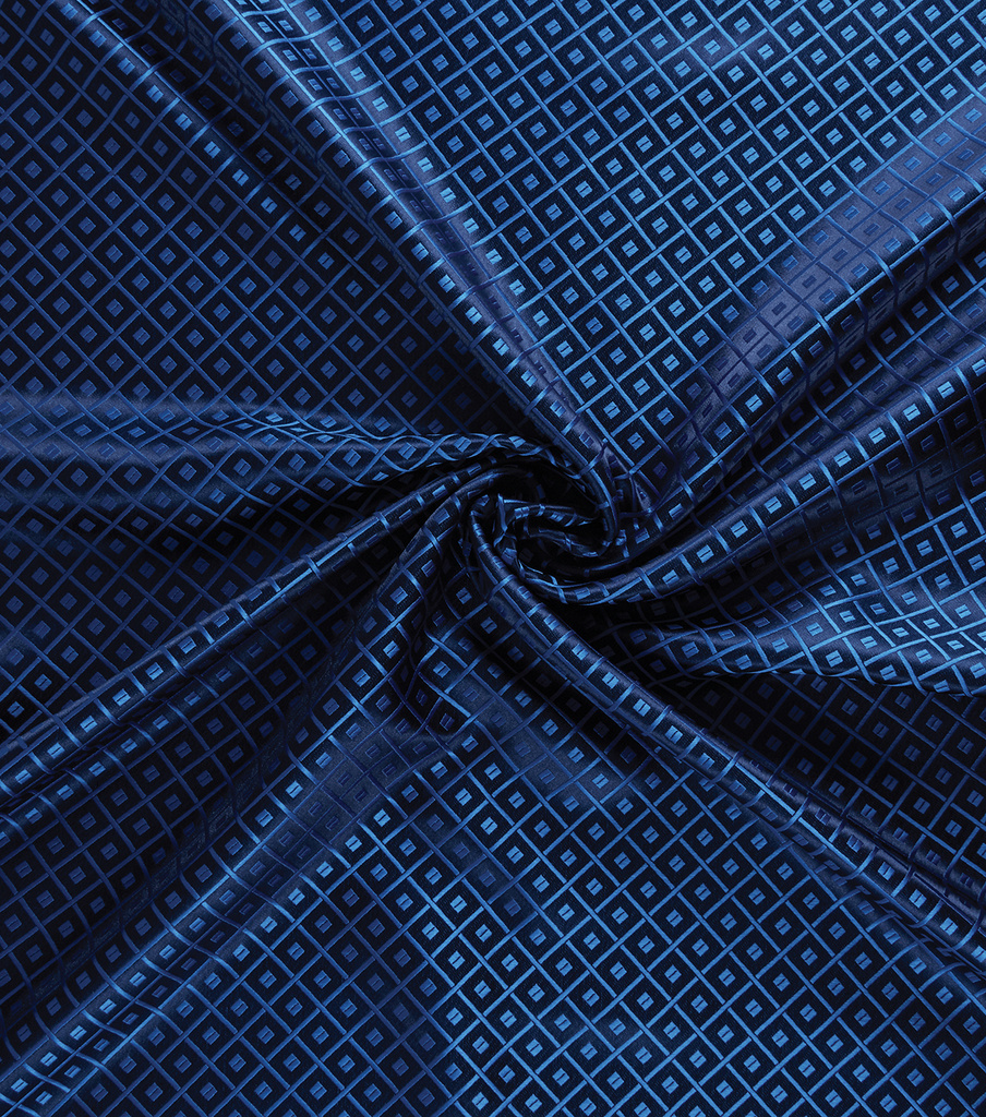 Yaya Han Cosplay Brocade Fabric 58\u0027\u0027-Royal Japanese Geometric