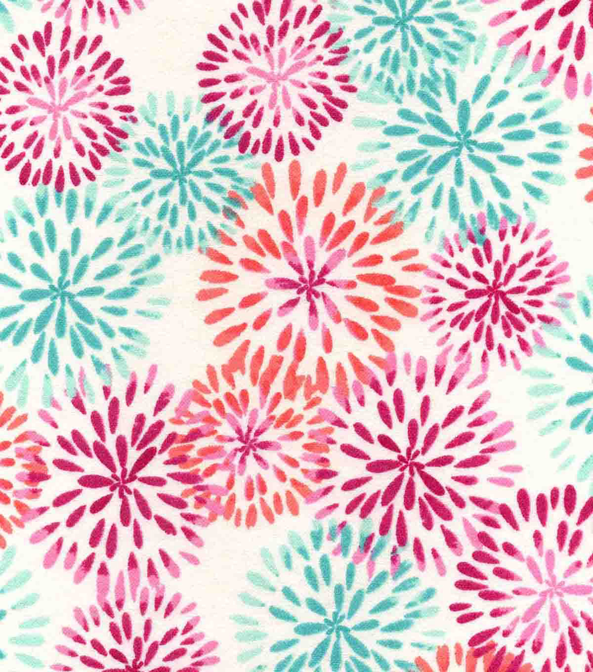 Snuggle Flannel Fabric -Madison Mums
