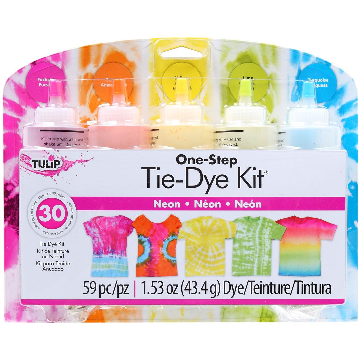 Tulip One-Step Tie-Dye Kit, Neon