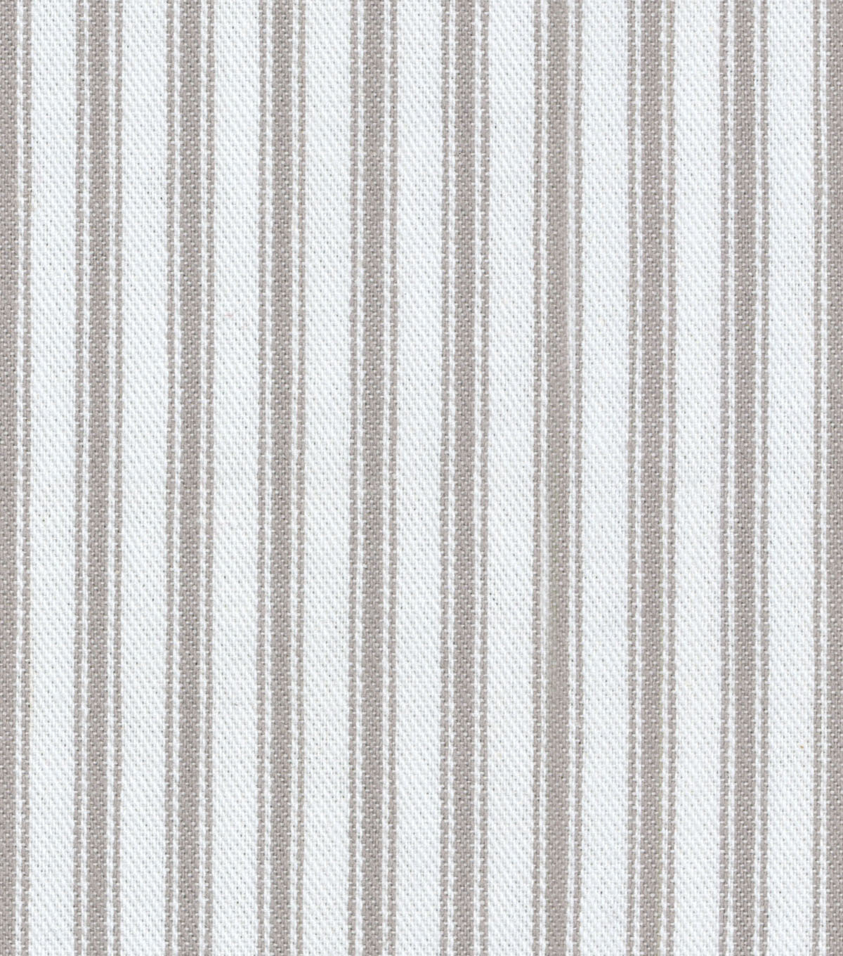 Waverly Multi-Purpose Decor Fabric 55\u0022-Classic Ticking Nickel