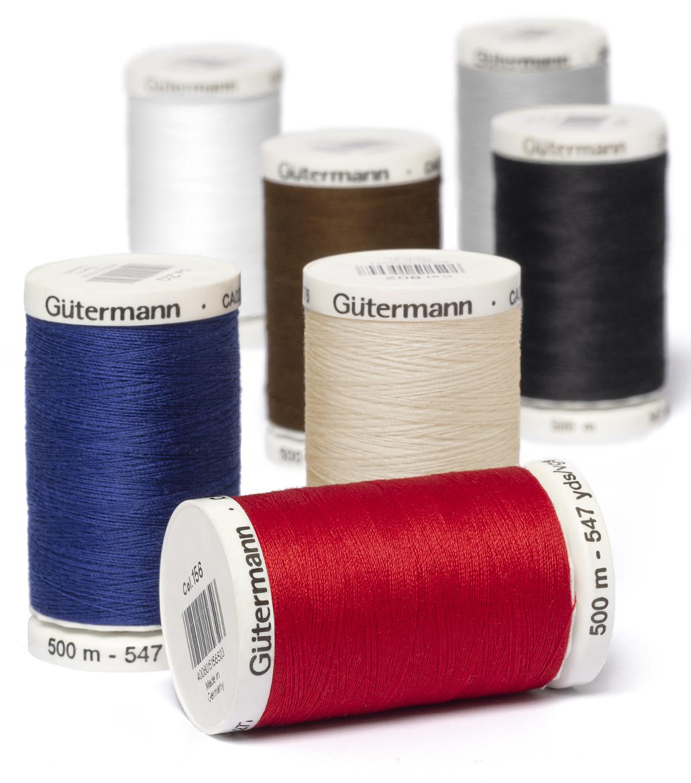 3 Spools GUTERMANN Mara 120 100/% POLYESTER Reg 3 Choices 1000 M//spool THREAD