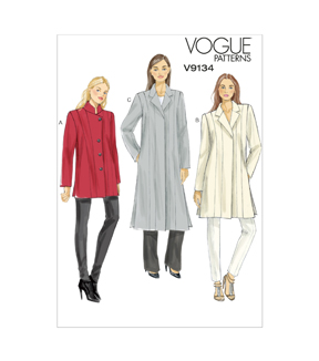 Vogue Patterns Misses Jacket-V9134