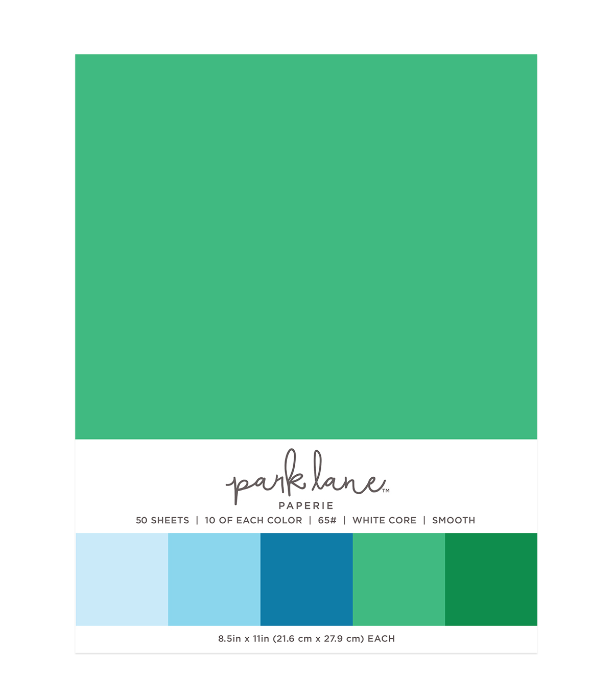 Park Lane 50 pk 8.5\u0027\u0027x11\u0027\u0027 Value Papers-Minty