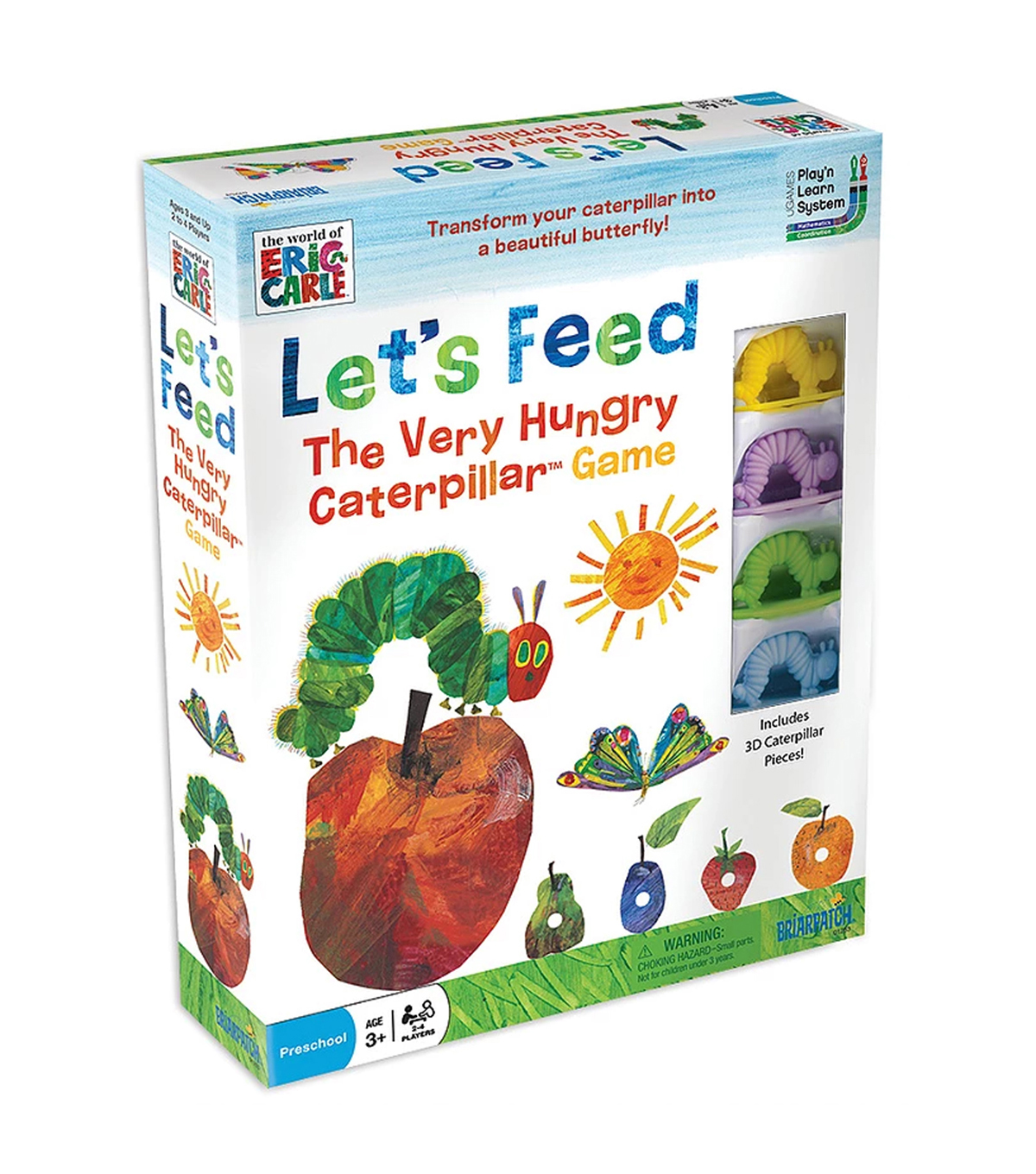 Briarpatch Let\u0027s Feed The Very Hungry Caterpillar Game