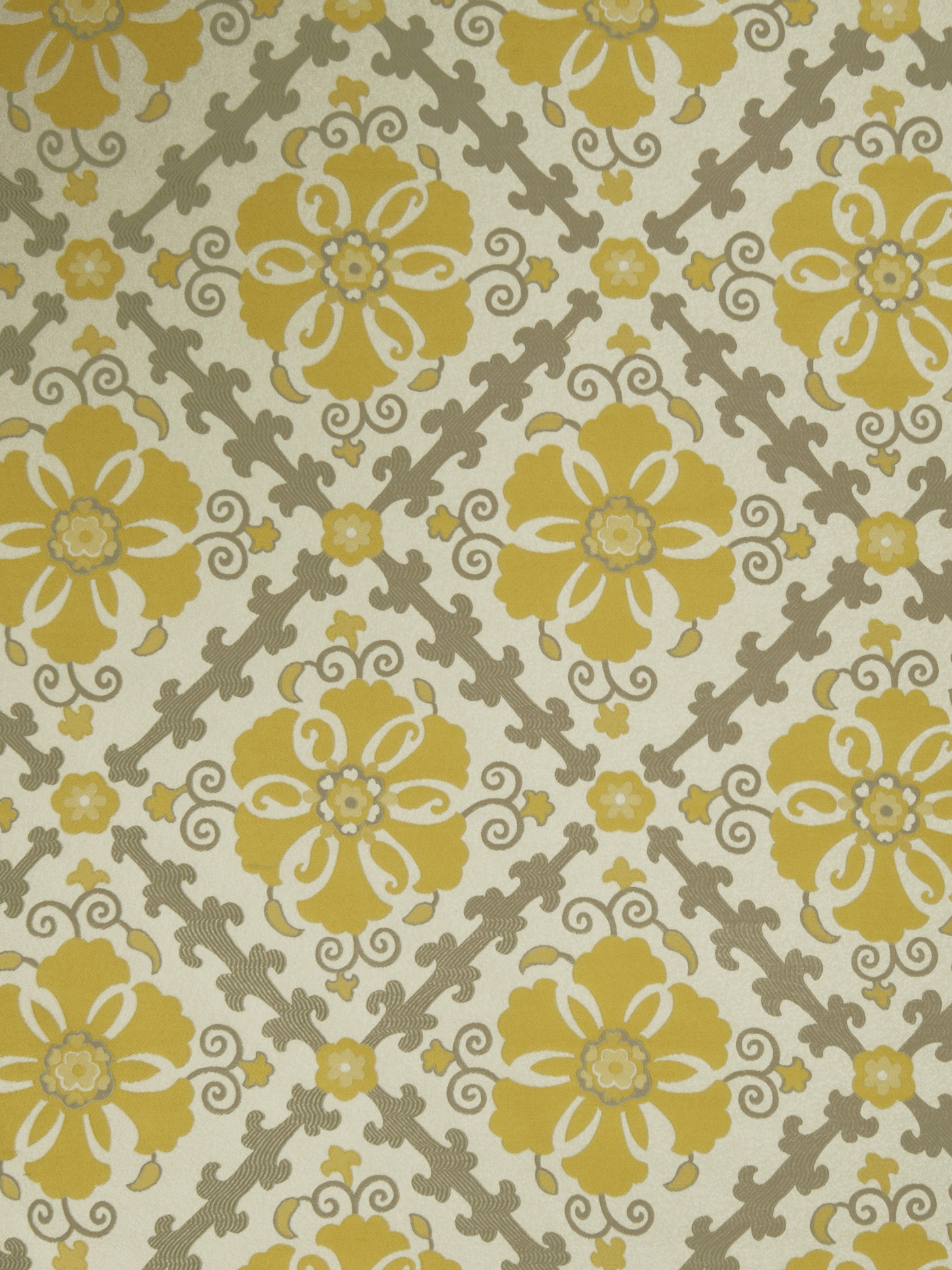Home Decor 8x8 Fabric Swatch-Jaclyn Smith Akins Lemon Zest