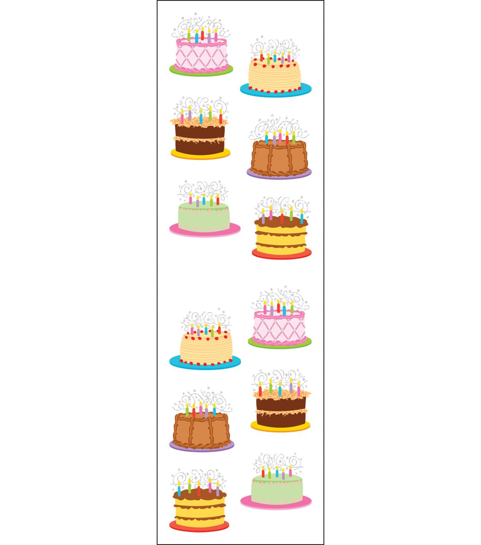 Mrs Grossmans Stickers Birthday Cakes Joann