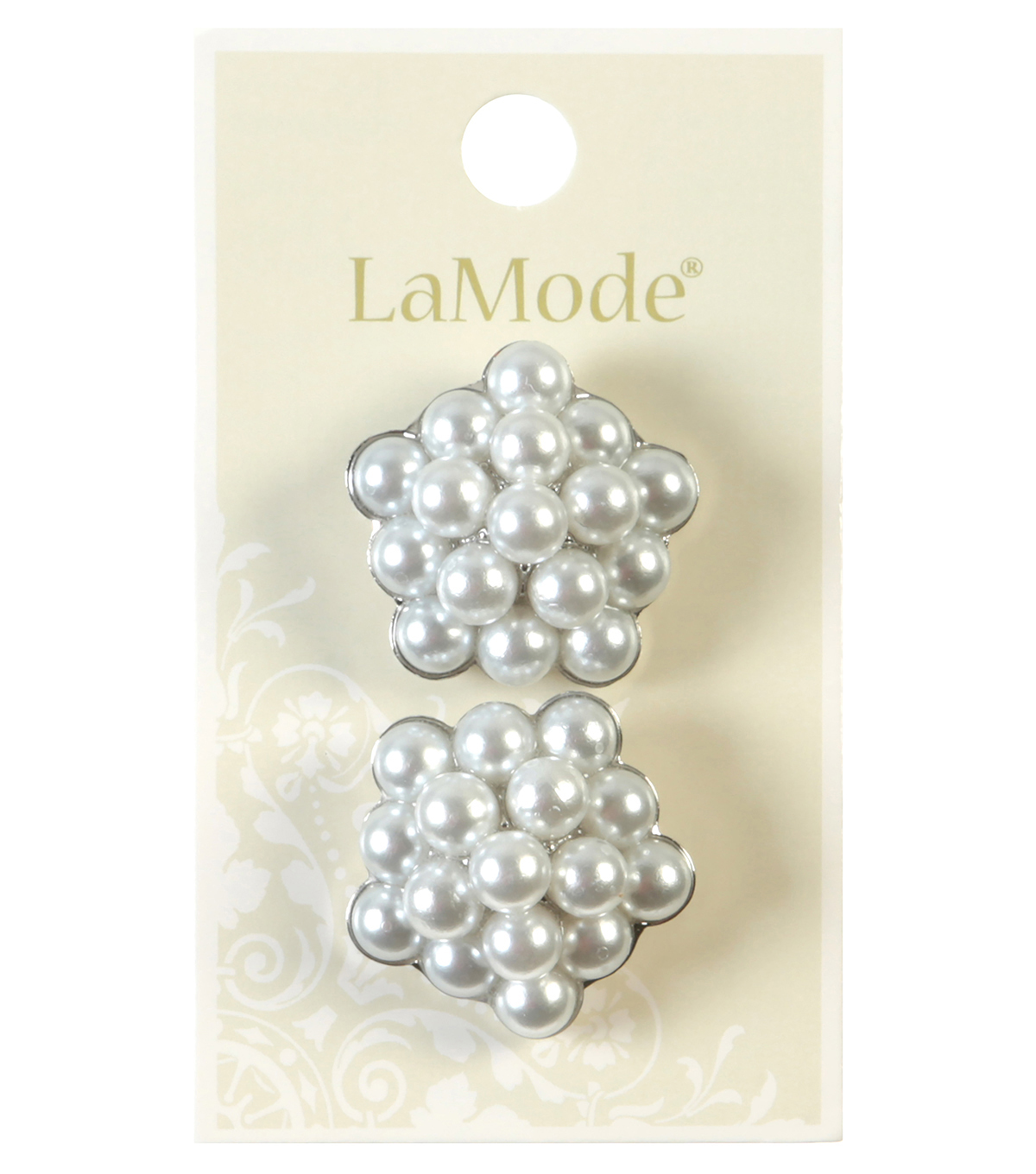 LaMode Pearl Cluster Button