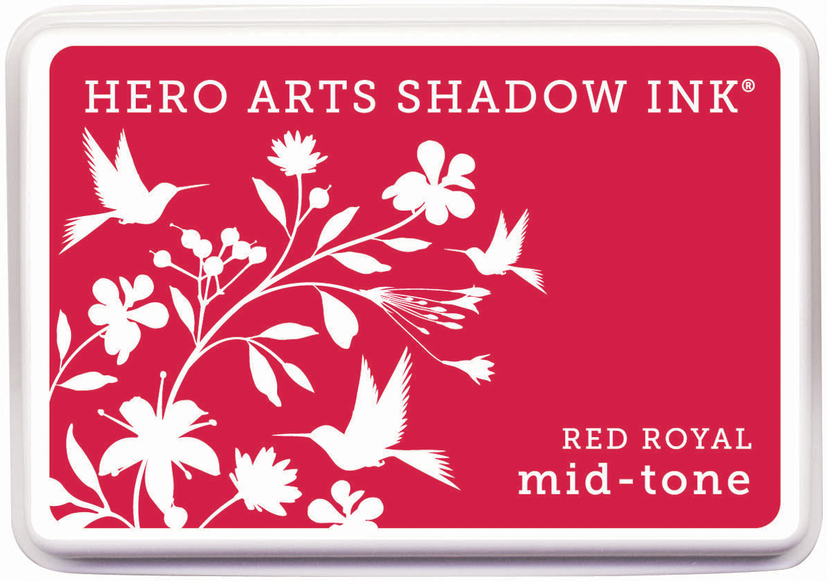 Soft Sky -hero Arts Shadow Ink, Red Royal