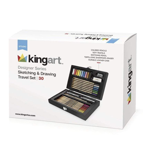 KINGART Designer Series Travel Case Collection