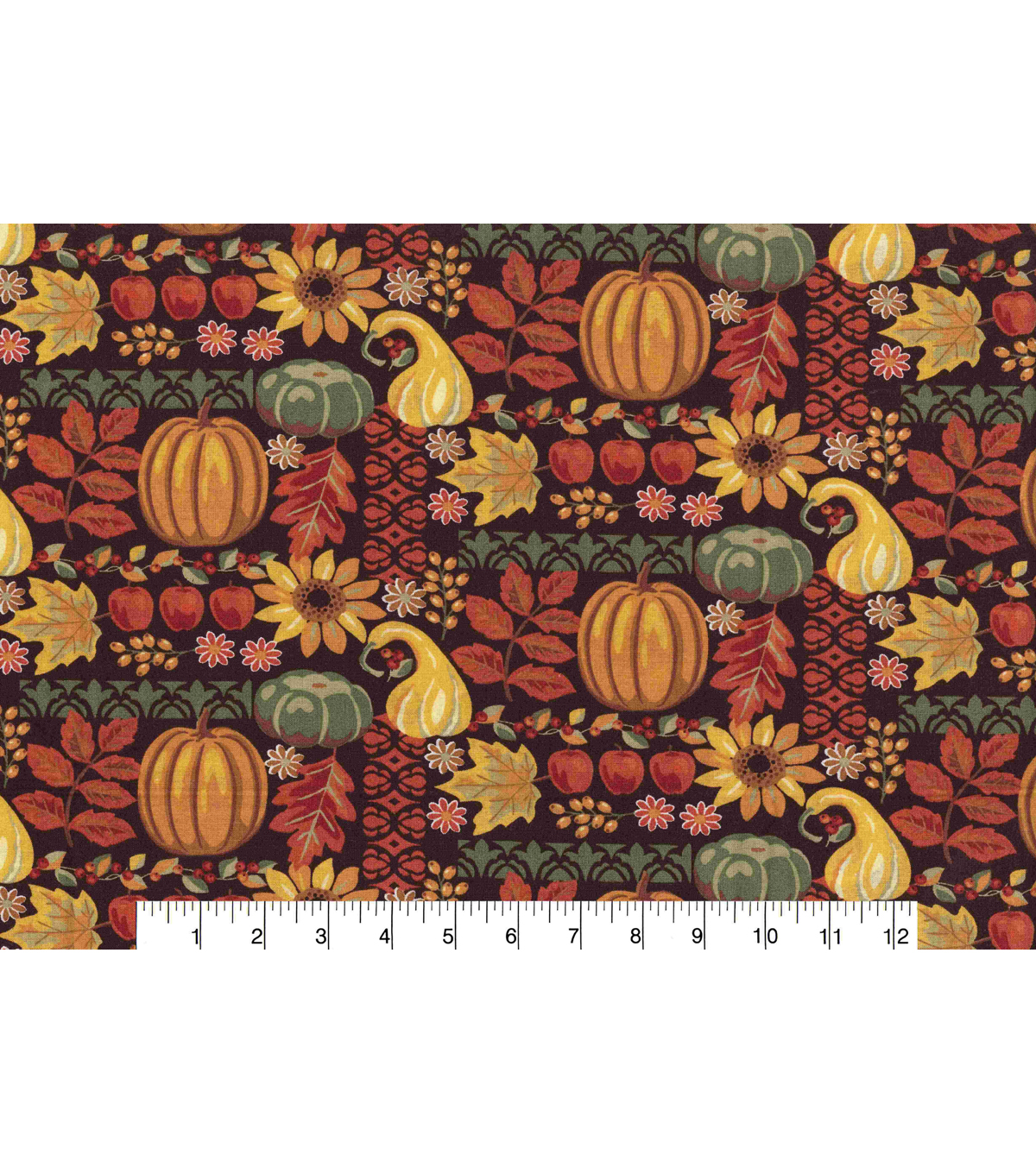 Harvest Cotton Fabric-Harvest Allover