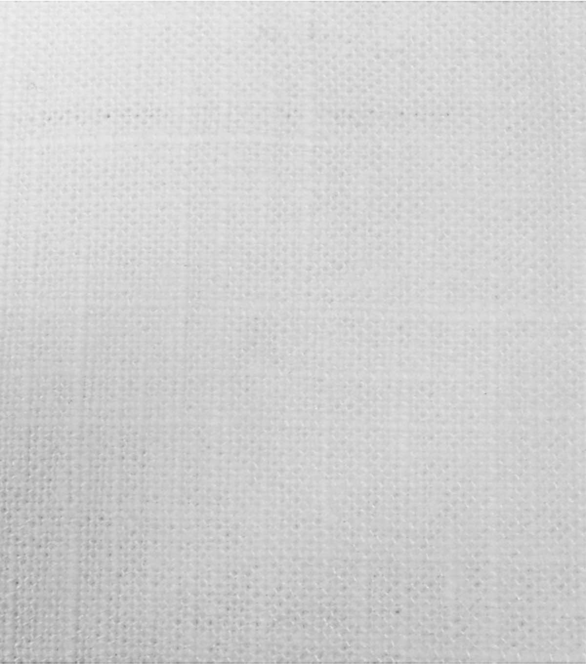 Signature Series Lightweight Decor Linen Fabric 54u0022 White