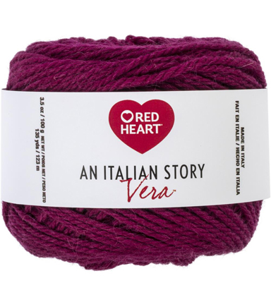 Red Heart An Italian Story Vera Yarn