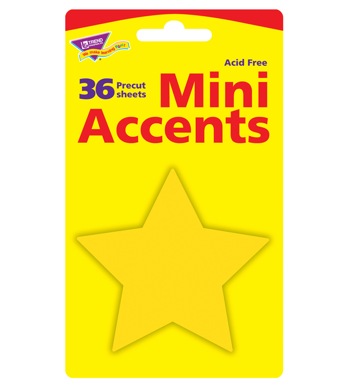 Little Star Mini Accents, 36 Per Pack, 6 Packs