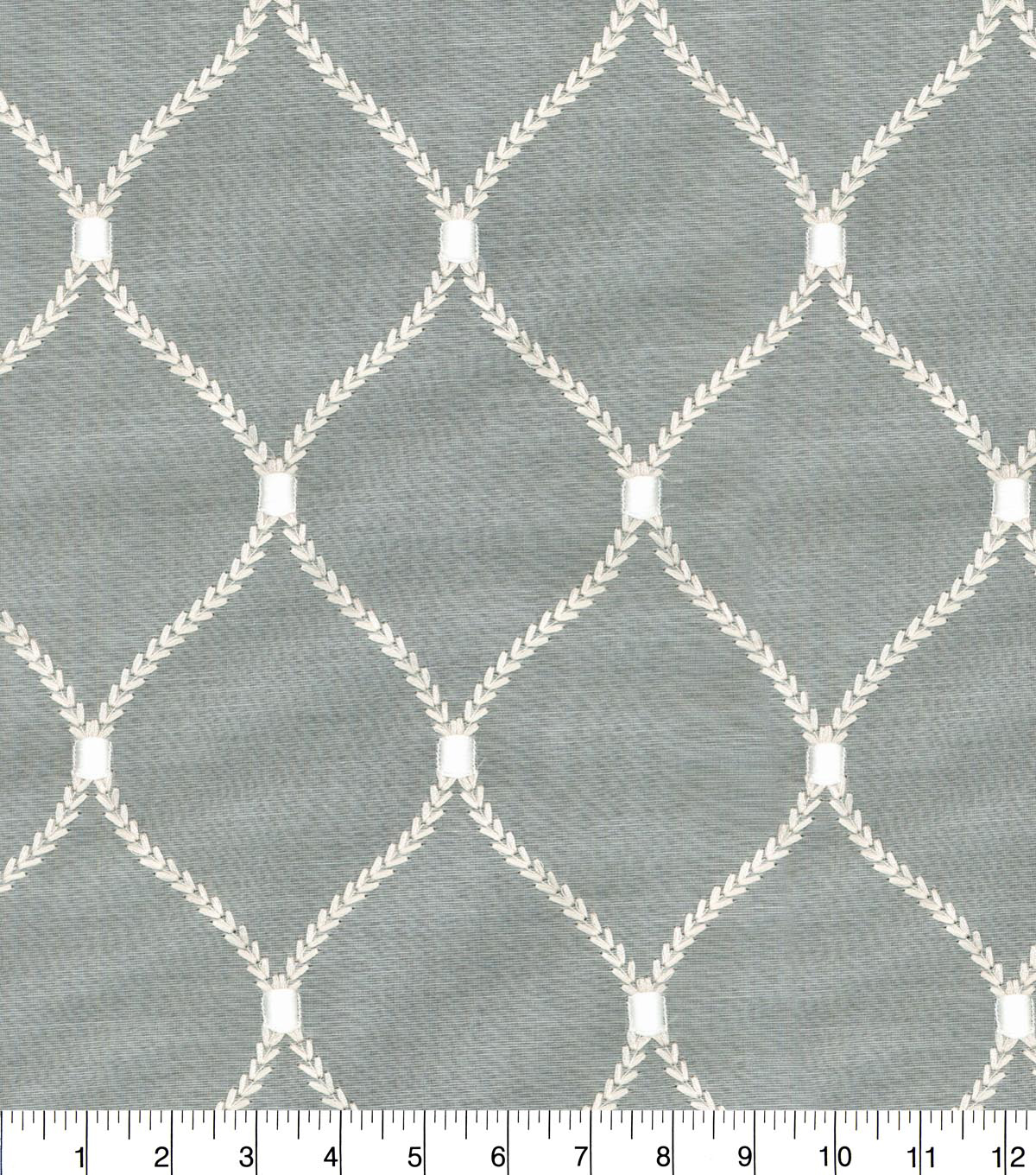 Home Decor 8\u0022x8\u0022 Fabric Swatch-Print Fabric-Dabney Emb Cloud