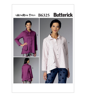 Butterick Misses Top-B6325
