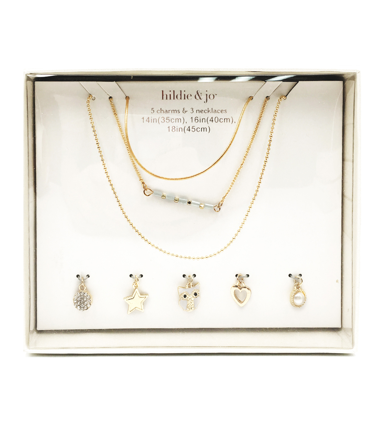 hildie & jo Gold Charms & Necklaces 2