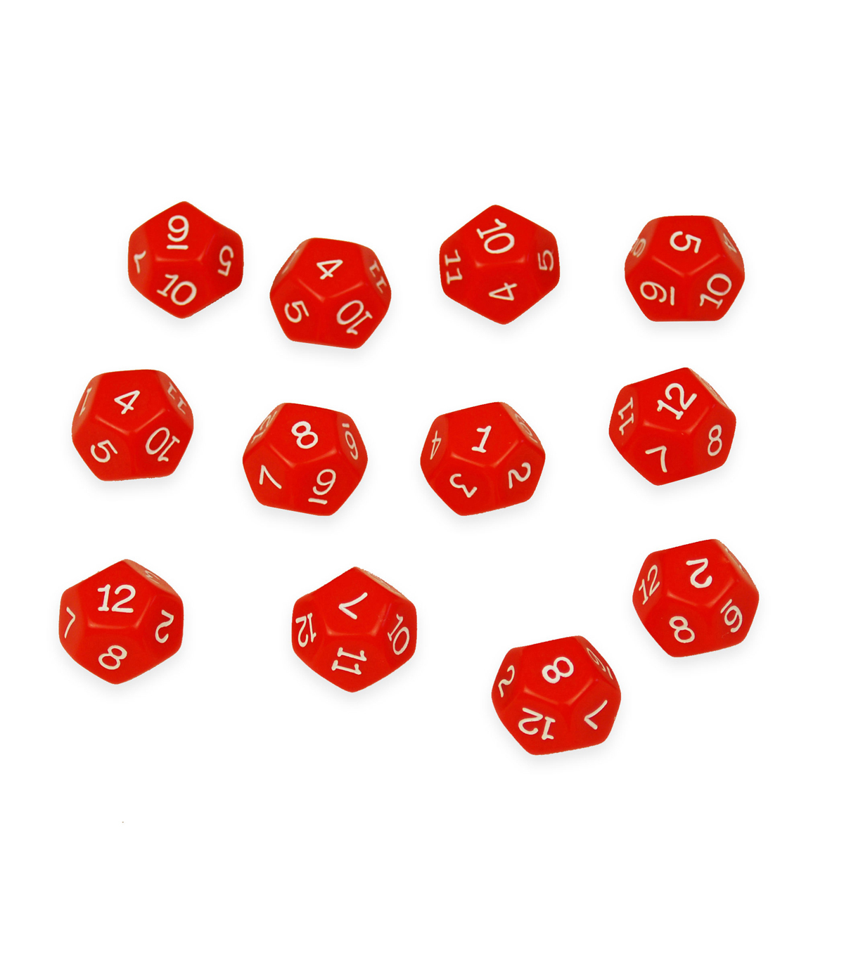 Learning Advantage 48 pk 12-sided Polyhedra Dice