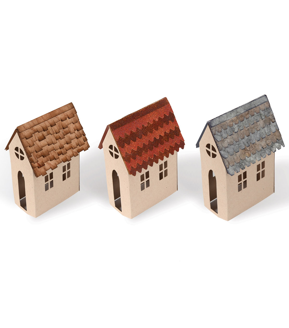Sizzix Bigz Tim Holtz Alterations Die-Village Rooftops