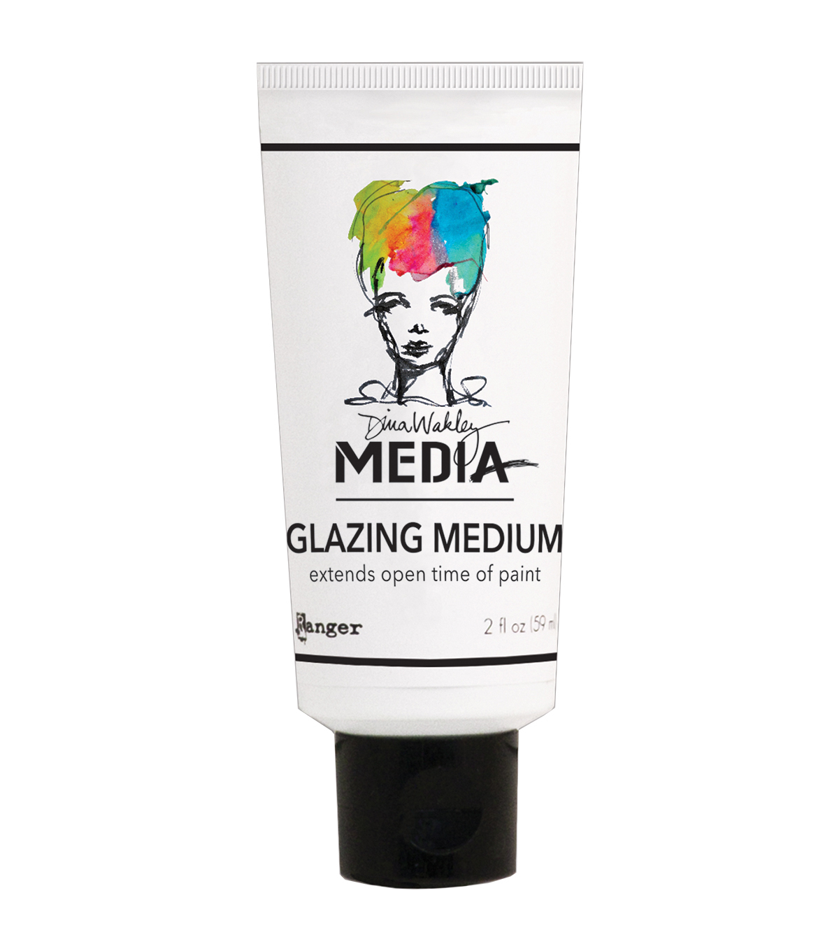 Ranger Dina Wakley Media 2 oz. Glazing Medium Tube