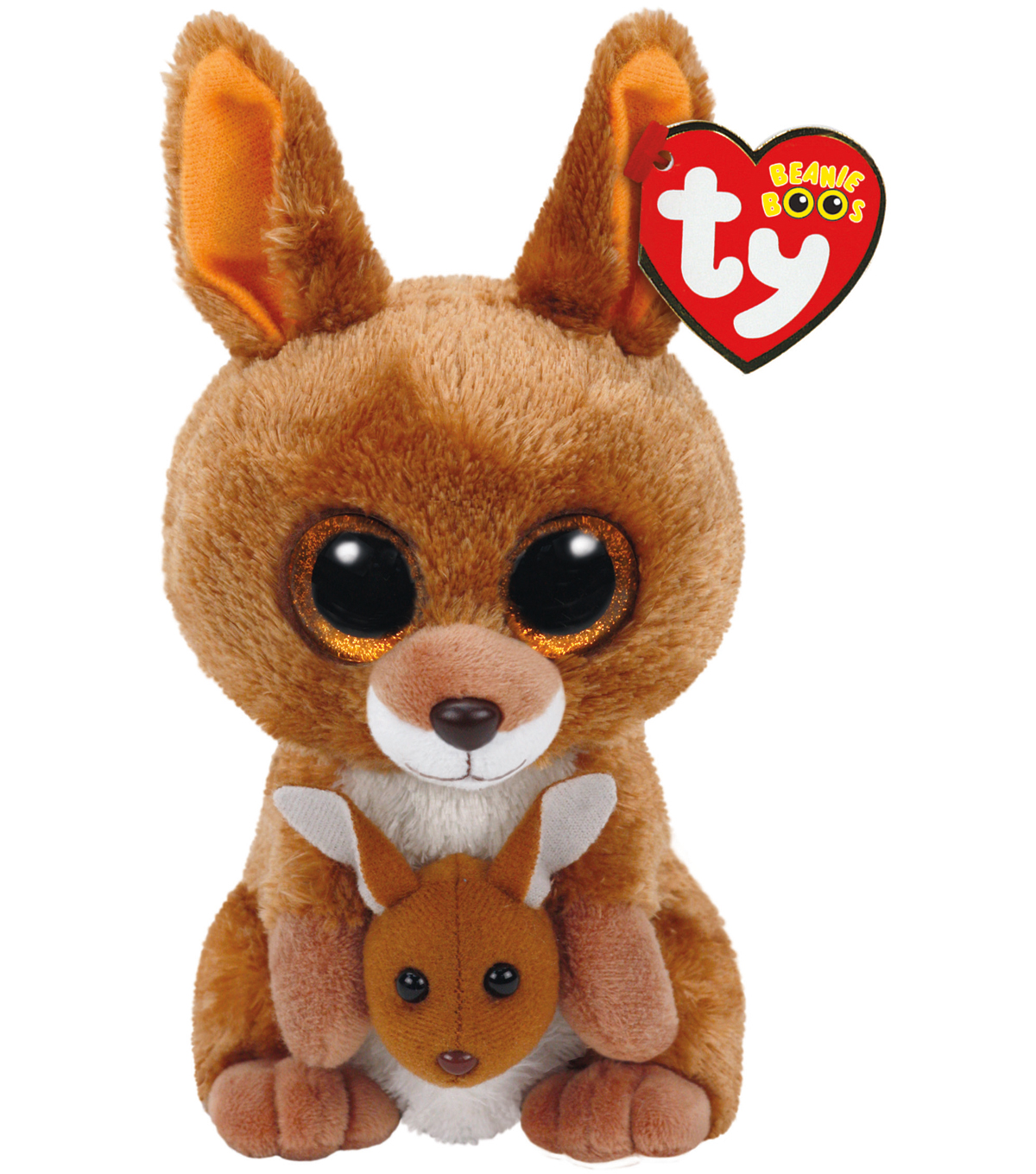 TY Beanie Boo Brown Kangaroo-Kipper