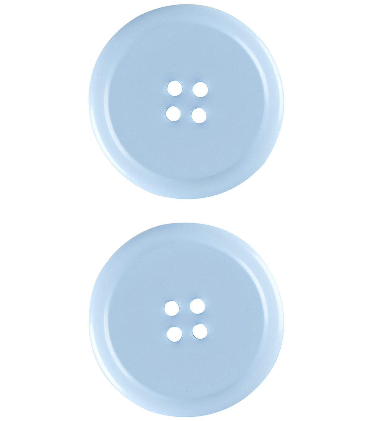 My Favorite Colors 2 pk 1.5\u0027\u0027 Buttons-Blue