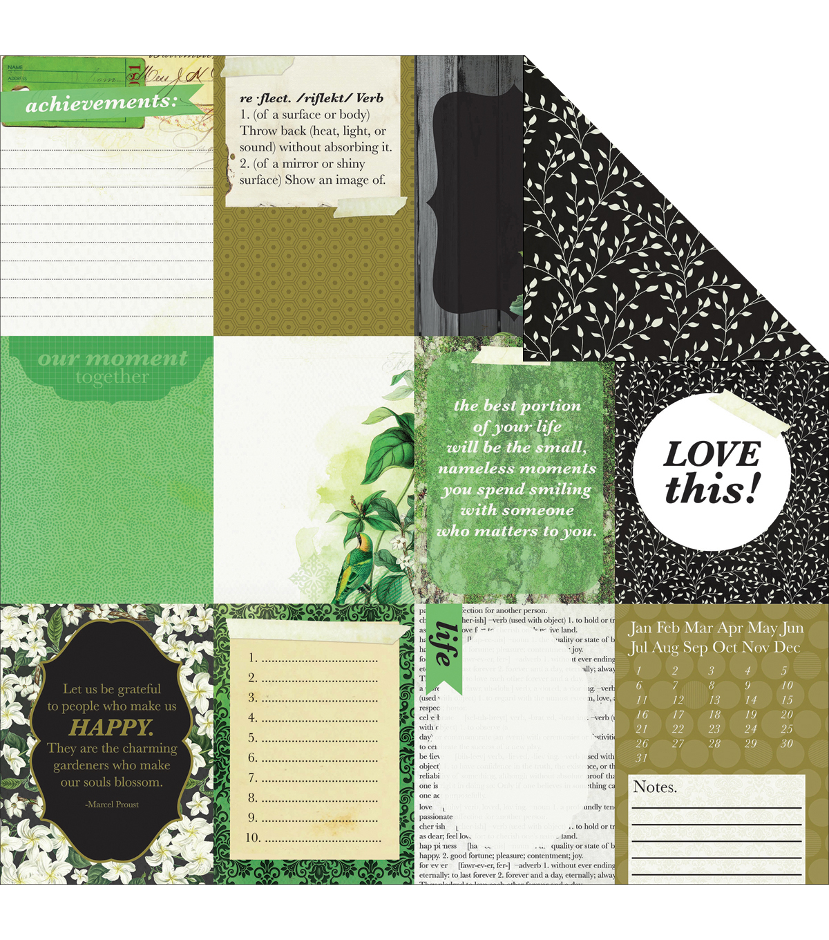 Kaisercraft Limelight Double-Sided Cardstock Paper Dawn