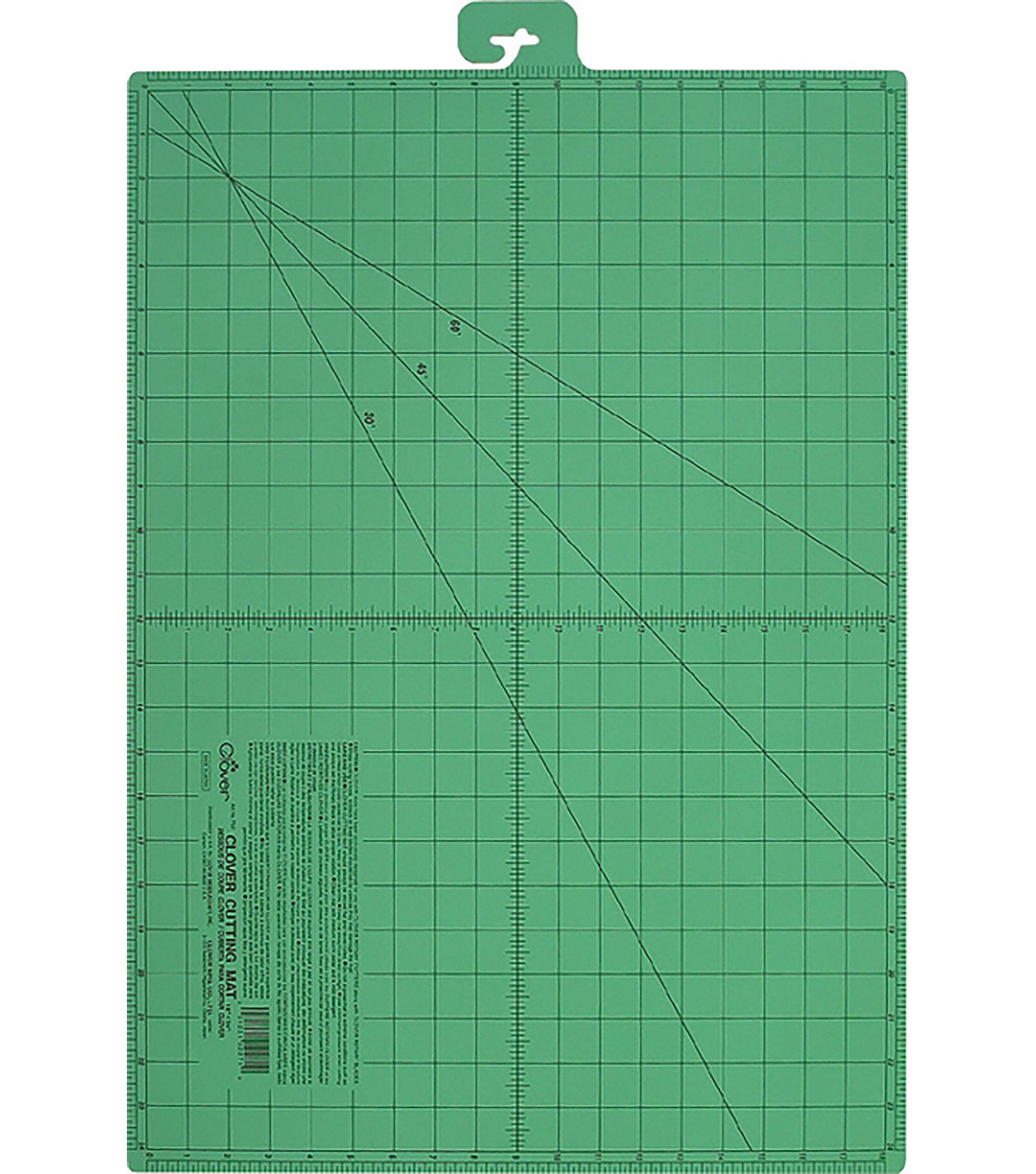 Clover Triple Layer Self-Healing Cutting Mat-Medium-18\u0022X24\u0022