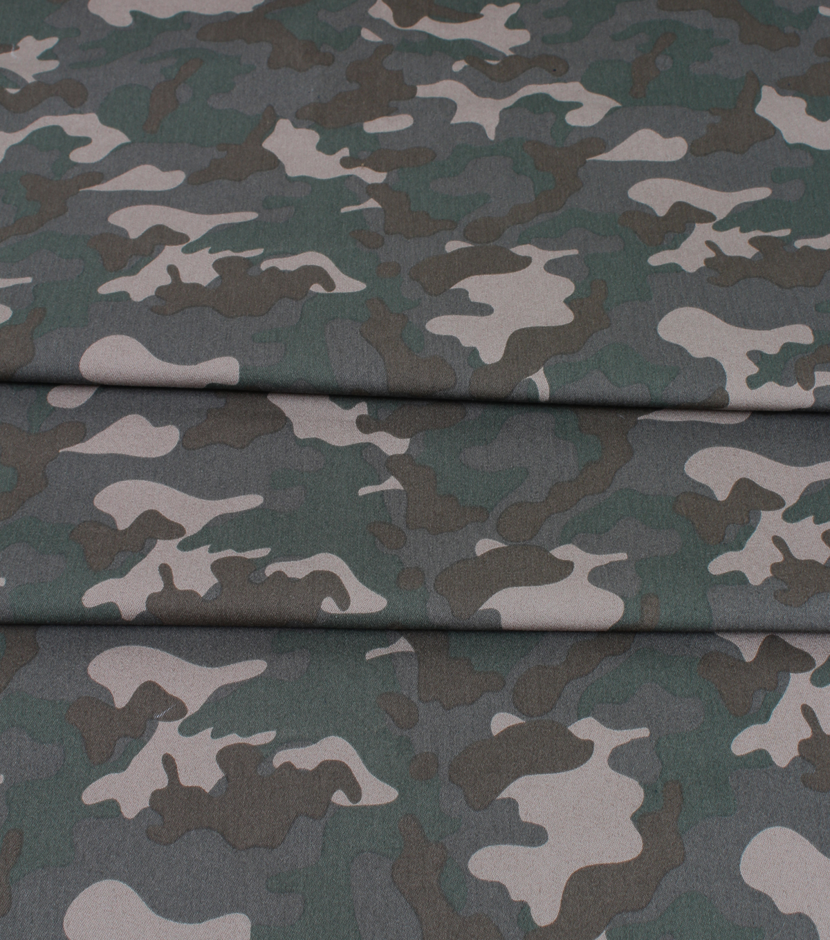 GREEN PU Leather Look Cloth Upholstery Fabric Material CAMOUFLAGE