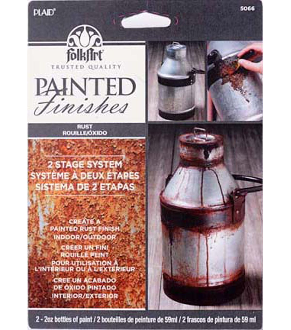 FolkArt Painted Finish Kit-Rust