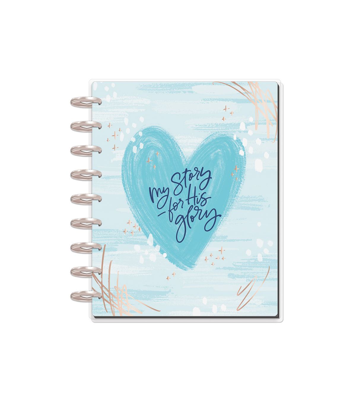 The Happy Planner Girl 12 Month Planner - Faith Warrior