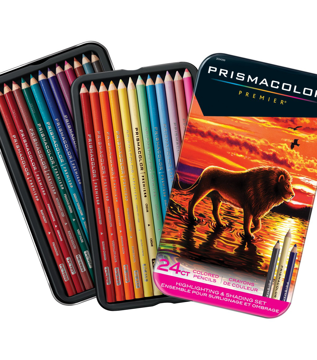 Prismacolor Premier Colored Pencil Highlighting & Shading Set