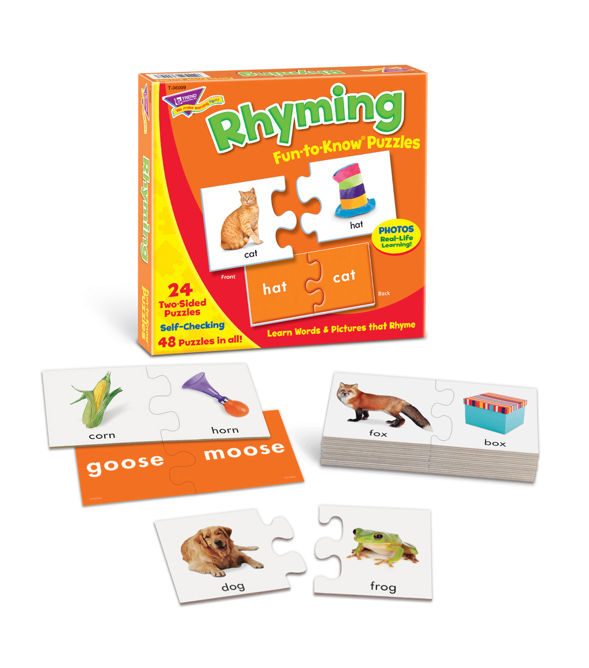 Fun to Know Puzzles Rhyming, Set of 3pks