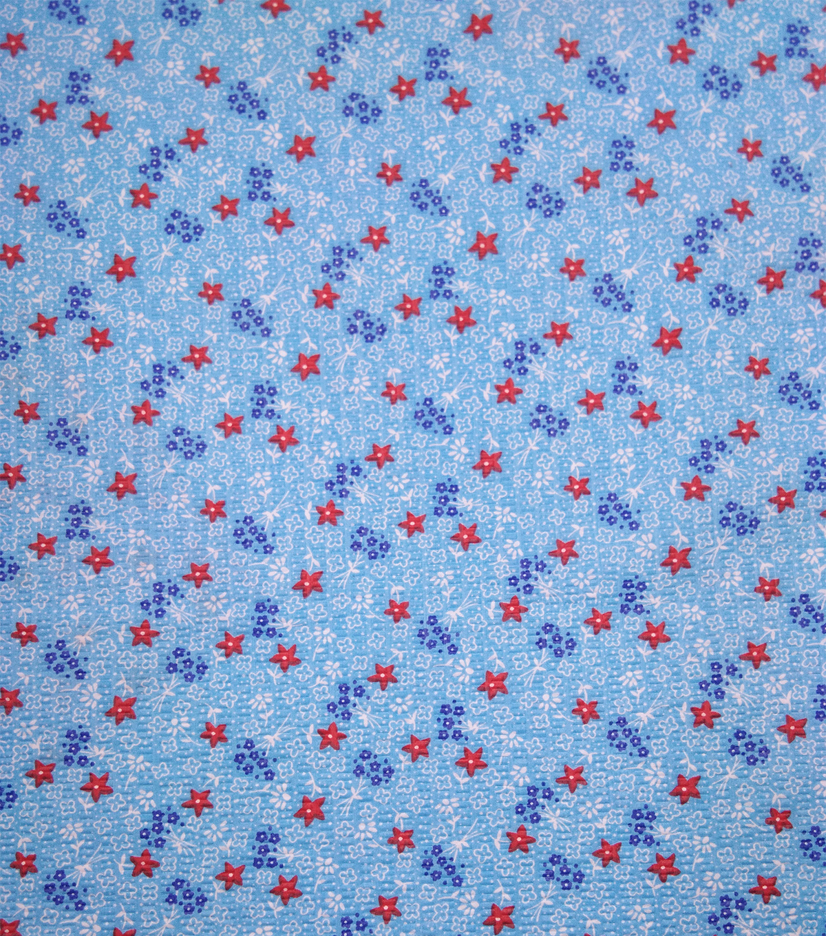 Doodles Fabric 43\u0027\u0027-Dotted & Petite Flowers on Turquoise