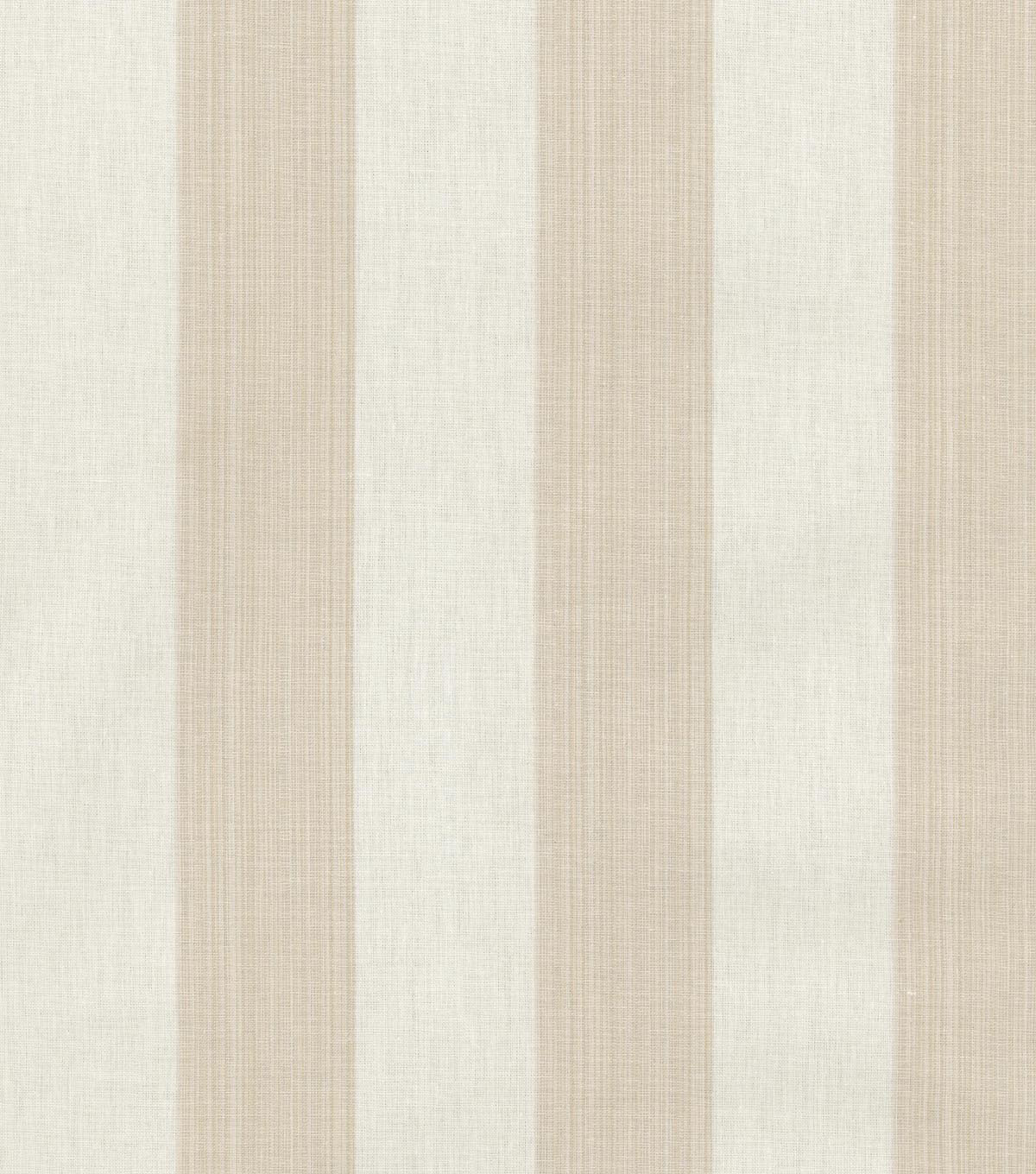 Williamsburg Upholstery Fabric 54\u0022-Stratford Stripe/Zlinen
