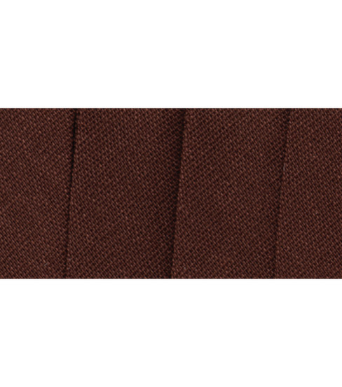 Wrights Extra Wide Double Fold Bias Tape, Mocha