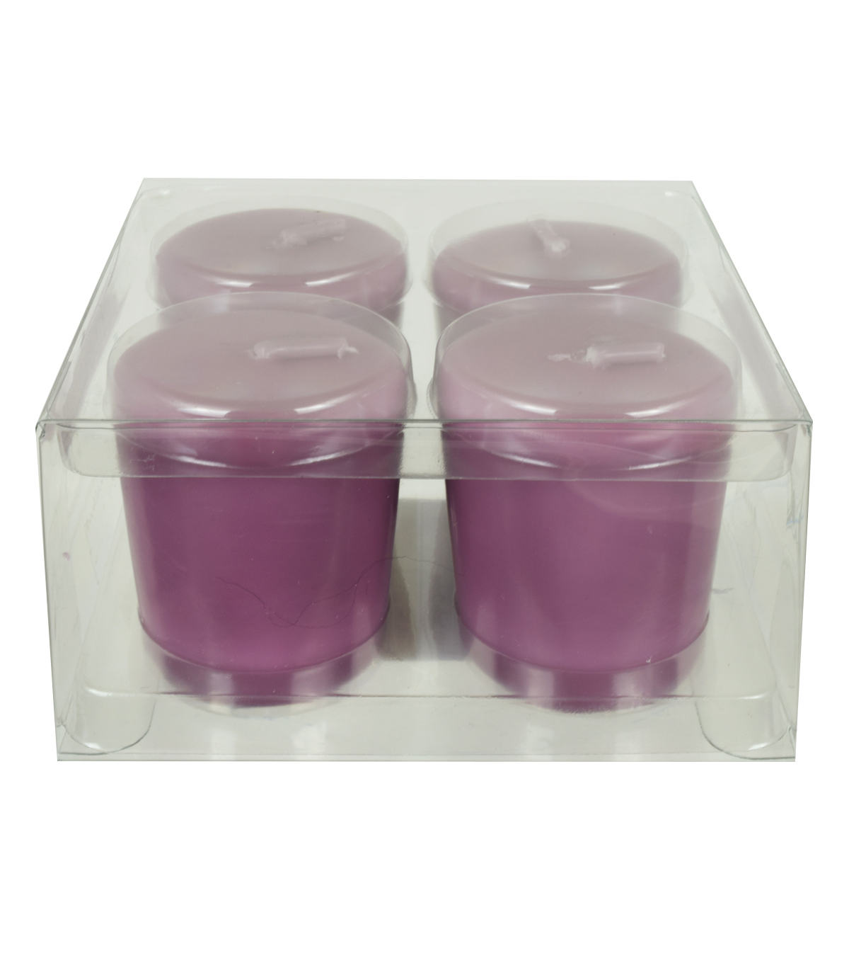 Hudson 43 Candle & Light 4 pk Votive Candles-Dusty Orchid