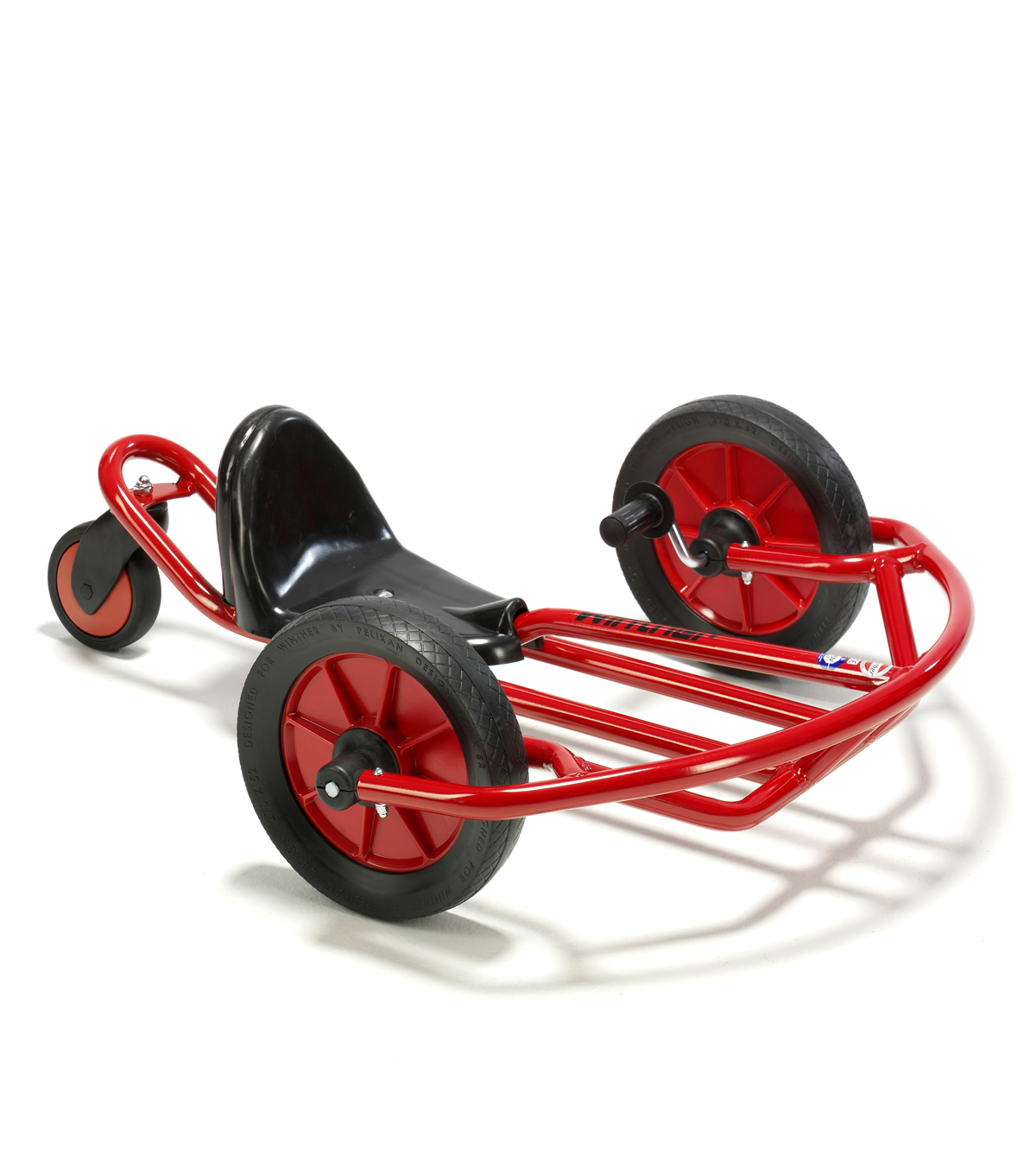 Winther Viking Small Swingcart-Red